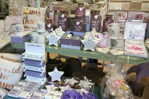 The Mother's Day display in Feathering Your Nest.