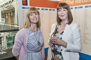 Waitrose's Kirsty Hicks (right) with PG's Gale Astley