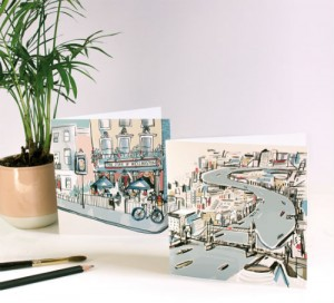 Anna Hymas' new London collection for The Art File