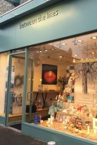 Between The Lines' new store in London's Battersea.