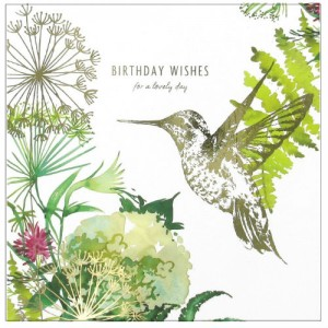 One of the new bespoke cards from Hallmark for Waitrose