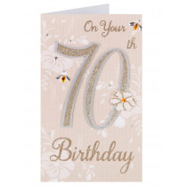 A 70th card from Clintons