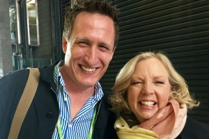 Jeremy Corner and Deborah Meaden from Dragon's Den