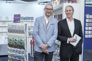 Tim Melgund with Ged Mace. md of The Art File at PG Live this year.