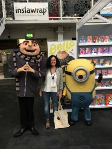 Leona couldn't resist a pic with Gru and a rather sad looking minon - the kids were suitably impressed.
