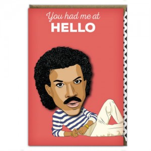 Lionel Richie has been popular for Tache Crafts as well.