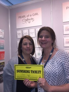 Janey Apps (right) with Lynsey Pearson of Pearl of a Girl