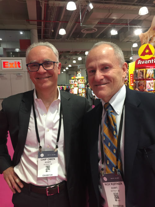 Rick Ruffner and Chip Owen, directors of Avanti (which is distributed in the UK by GBCC).