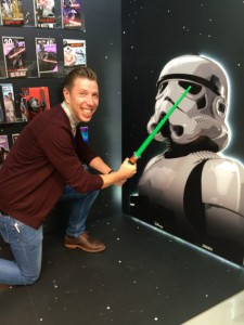 Having fun on the UKG stand at PG Live celebrating the launch of the new Star Wars range