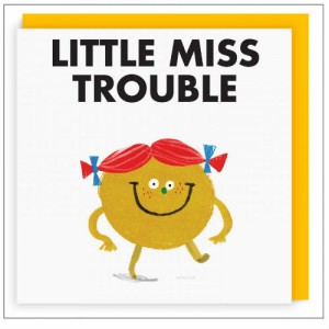 Little Miss card from Ohh Deer.