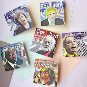 Joe Cox's Political Pals range on sale now at selected Paperchase stores