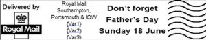 Royal Mail's Father's Day postmark