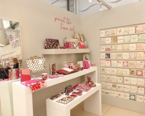 Caroline Gardner's eye-catching show stand at Harrogate Home & Gift