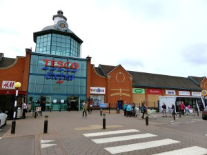 Above: Tesco is still intending to push on with its new look greeting card department, that debuted in this Peterborough store, but the roll out has been postponed until the start of 2018.