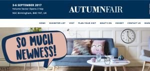 Above: Autumn Fair's doors open in a week and a half's time at the NEC.