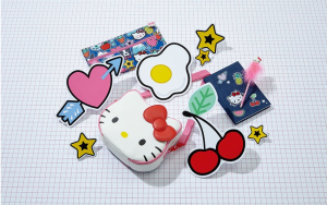Above: A selection of the Hello Kitty products that are bespoke to Paperchase.