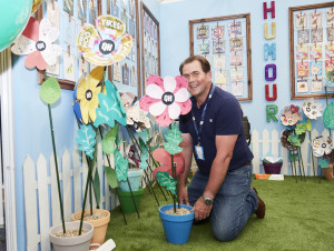 Quitting Hollywood's commercial director Richard Edmondson feels QH will find more fertile growth on the indie front through Words 'n' Wishes as its sales and distribution partner. Seen here on the publisher's stand at PG Live.