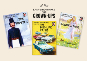 In addition to winning a Licensing Award, Danilo's Ladybird for Grown-Ups range is also in the finals in The Henries Best Licensed Card Range.