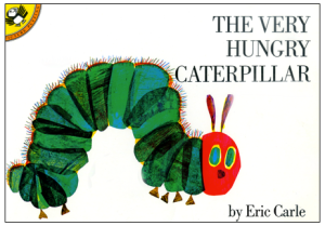 From next year Woodmansterne is to publish cards based on Eric Carle's The Very Hungry Caterpillar.