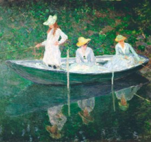 One of the Impressionist fine art cards that forms part of the licensing agreement with Felix Rosenthiel's.
