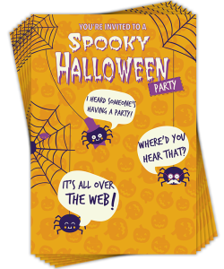 New Halloween invites from Davora.