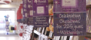 Greeting card racks Point of Sale marks the 225th anniversary of WH Smith.