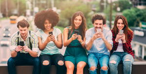 Above: Be great to get Millennials off their phones and more into cards!