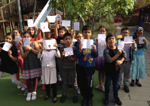 The Thinking of You Week activity last week by The Taste Buds' Sai Pathmanathan was certainly good for engaging the next generation into the joy of writing and sending cards.
