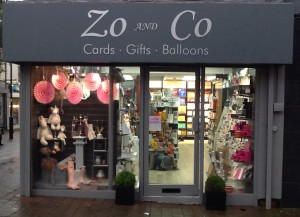 The Marple Zo and Co store.