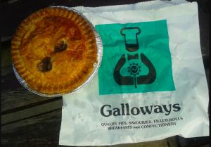 A Galloway pie is a 'meat-ing' of minds for Rod.