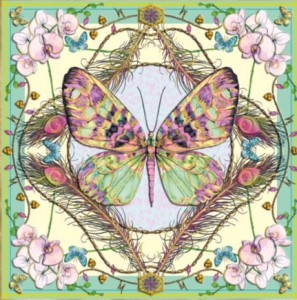 A Matthew Williamson butterfly design from Museums & Galleries.