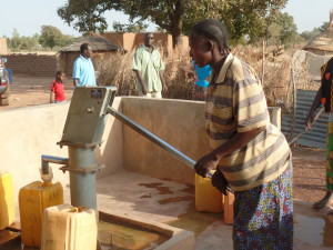 IC&G has just paid for well to be installed in a village in Burkina Faso via Myra's Wells charity.