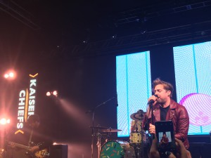 The Kaiser Chiefs put on an exclusive performance for attendees.