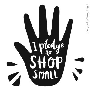 Shop Small graphic designed by Sarah Knight
