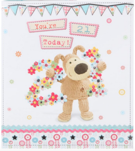 Birthday celebrations by Boofle on designs from UKG.