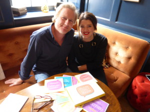 Giles Andreae and Heather Flynn, co-creators of the Happy Jackson brand.