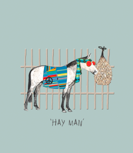 Playful puns on Sally Scaffardi's Animal range.