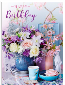 One of the first ranges Bev launched was Posies & Petals.