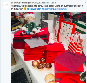 Belly Button's 'elf' was very busy!