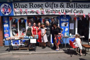 Blue Rose Gifts and Balloons have been planning for Christmas since the summer.