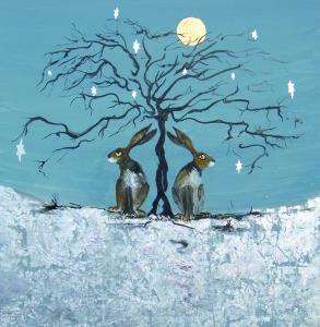 A dreamy scene - Winter Star Tree from Green Pebble.