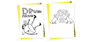 Art and humour combine in the Brainbox x David Shrigley collaboration.