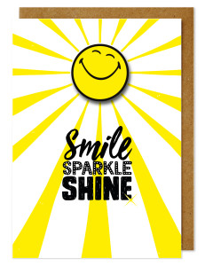 One of new Smiley cards to be launched at Top Drawer.