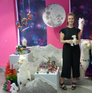 Hazel Walker, Paperchase buyer with some of the retailer's Christmas products.