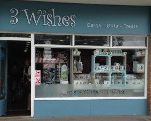 3 Wishes' Broadstone store that opened last Summer.