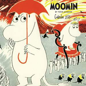 The Moomin calendar from Flame Tree has been in Waterstones' top 10 the past few years.