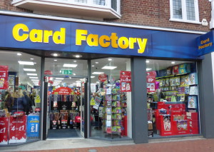 Card Factory is planning to open around another 50 stores in 2018.