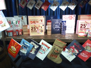 While card sales held steady its sales of giftwrappings increased.