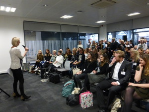 Sharon Little, GCA ceo addressing the audience at last year's sell out event.