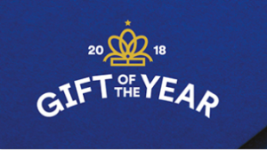 The Gift of the Year awards programme has grown in stature over the last four decades.